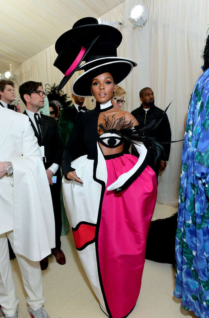 Janelle Monáe at the 2019 Met Gala Pictures