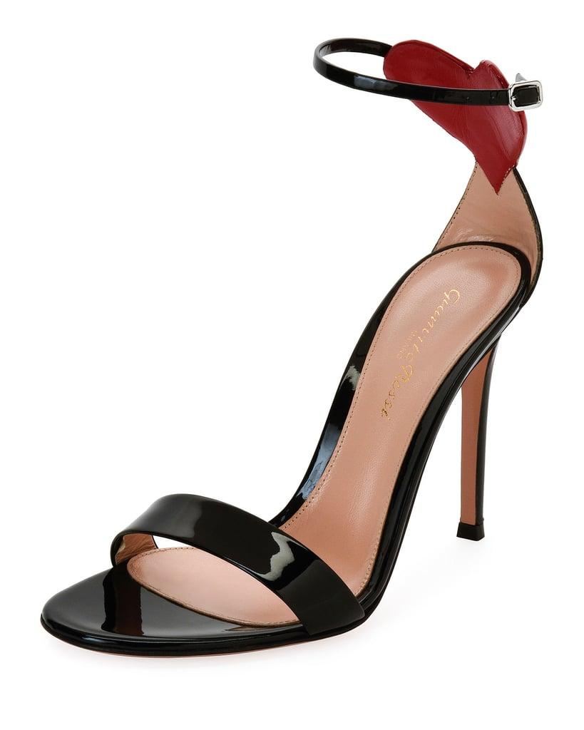 Gianvito Rossi Love Heart Patent Sandal