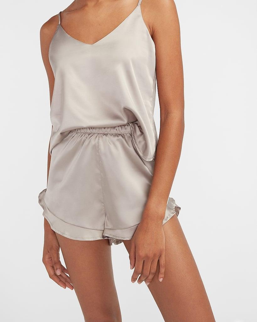 Satin Pajama Shorts