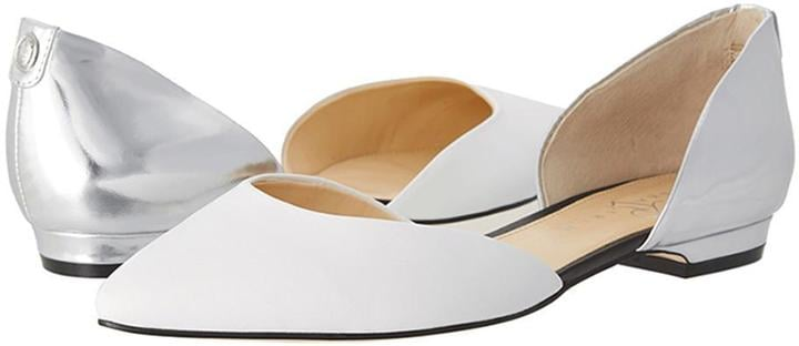 Ivanka Trump Pointed-Toe Flats