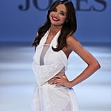 Miranda Kerr Runway Pictures in a Bathing Suit