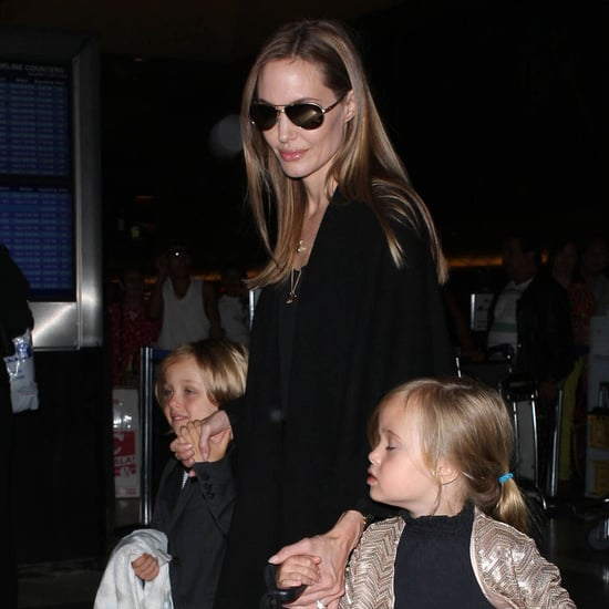Angelina Jolie and Her Kids at LAX | Pictures