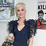 June 2018: Katy Spotted Visiting Orlando at His London Play