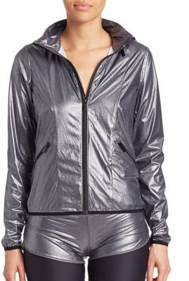 VIE ACTIVE Shiny Zipper Jacket