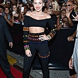 Miley Cyrus at the VMAs in Brooklyn.
