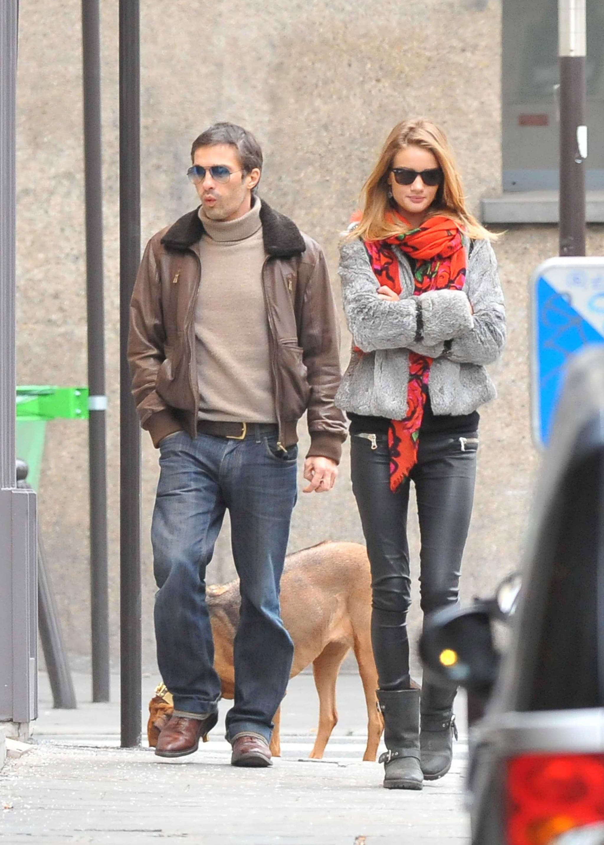 838862b7d1b Photos of Olivier Martinez and Rosie Huntington-Whiteley in Paris ...