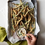 Air Fryer Garlic Parmesan Green Beans