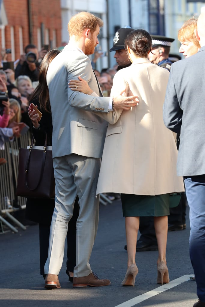 When the Duke and Duchess Were Their Usual Adorable Selves Toward Each Other