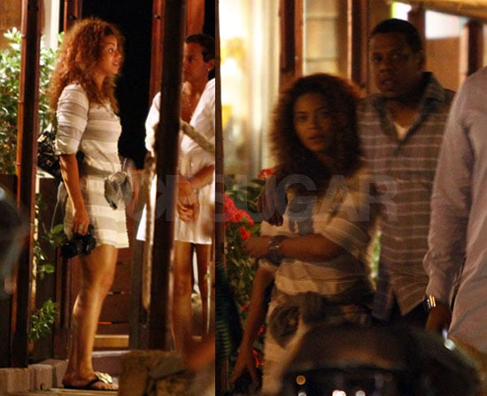 Photos of Jay-Z and Beyonce in St Barths
