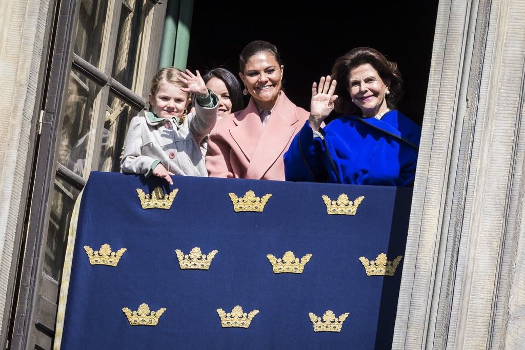 Swedish Royals at King Carl's Birthday Celebration