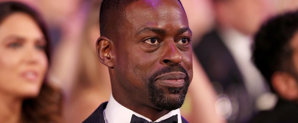 Sterling K. Brown Couldn't Stop Crying When His Costars Won a SAG Award