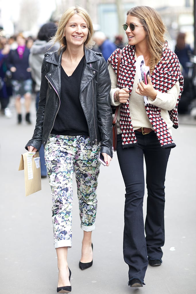 A seriously chic duo with two looks we'd like to steal.