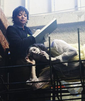 Castle's Makeup Artist Debbie Zoller Gets Gory At Work
