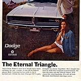 """References to a three-way will give men """"Dodge fever."""""""
