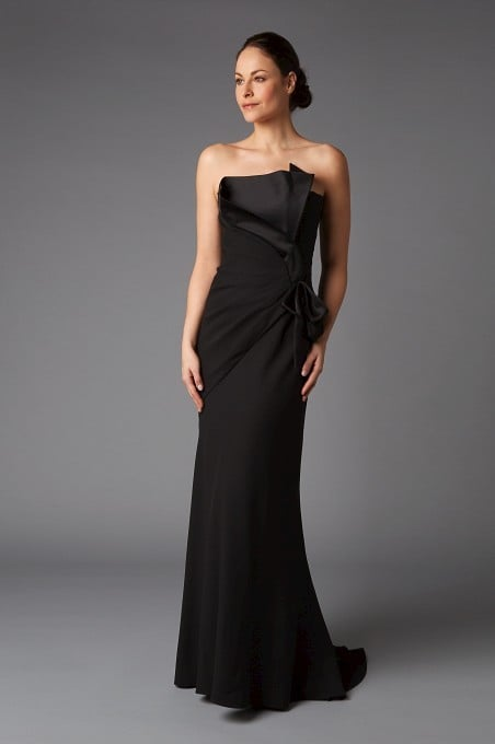 Black Satin Gowns
