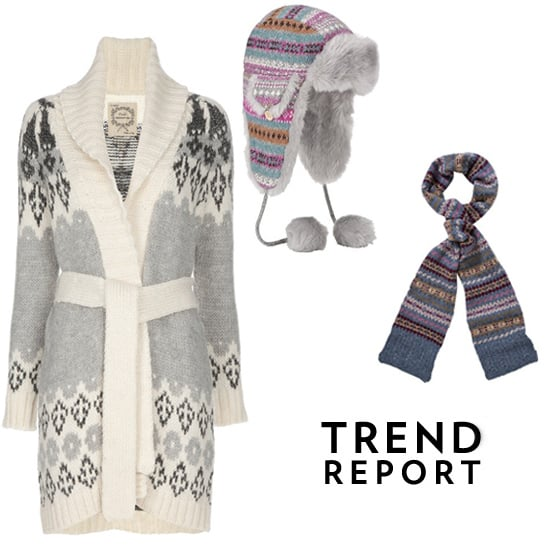 Shop the Trendy Fair Isle Style for Winter