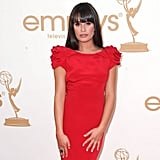 Lea Michele at the 2011 Emmys.