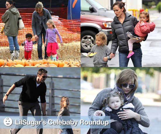 Pictures of Celebrities and Their Children
