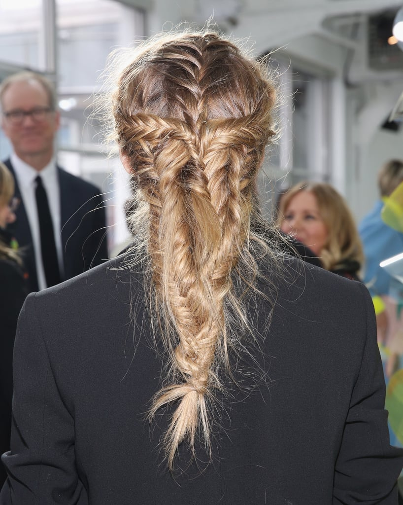 Olivia Palermo Wore the Most Incredible Plait to NYFW