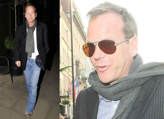 Photos of Kiefer Sutherland in London