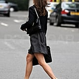 Pippa Middleton in wedges.