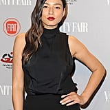 Jessica Gomes rocked black.