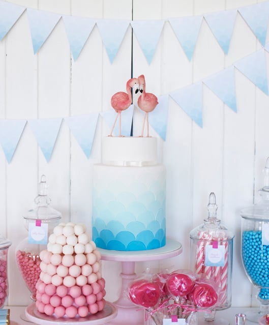 Pink and Blue Sweets