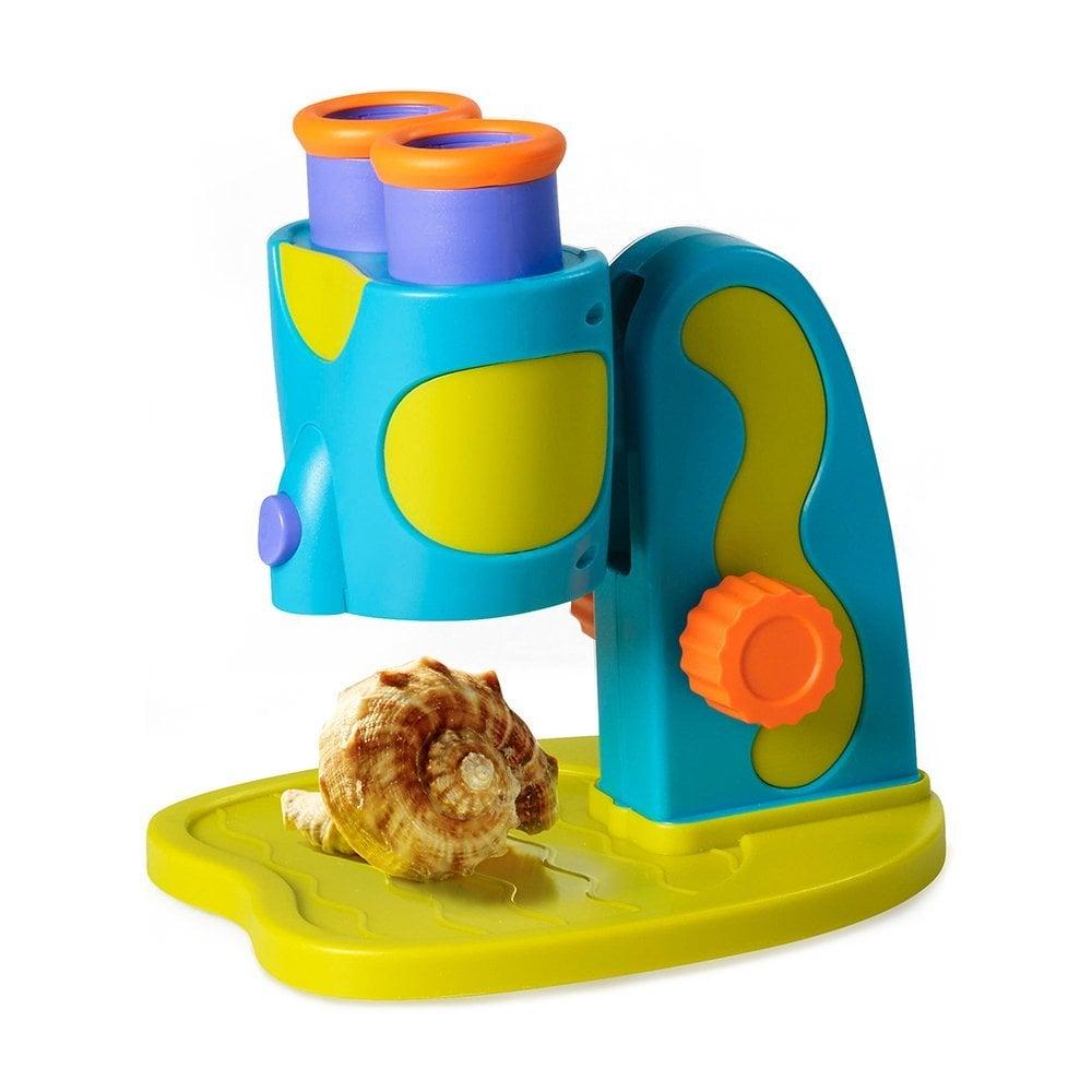 Educational Insights GeoSafari Jr. My First Microscope STEM Toy For Preschoolers