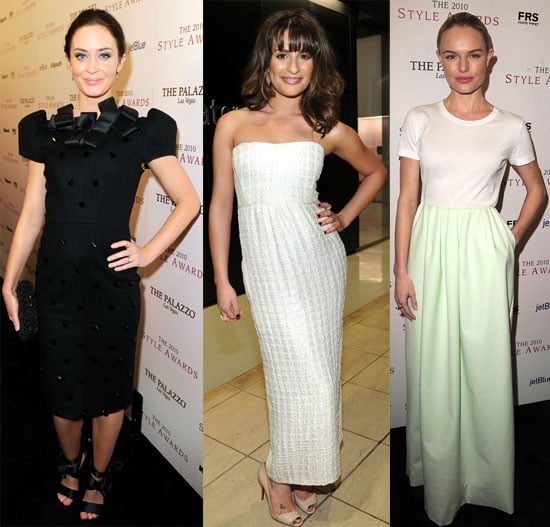 Pictures of Kate Bosworth, Lea Michele, Selena Gomez, Cory Monteith, Krysten Ritter and More at The Hollywood Style Awards