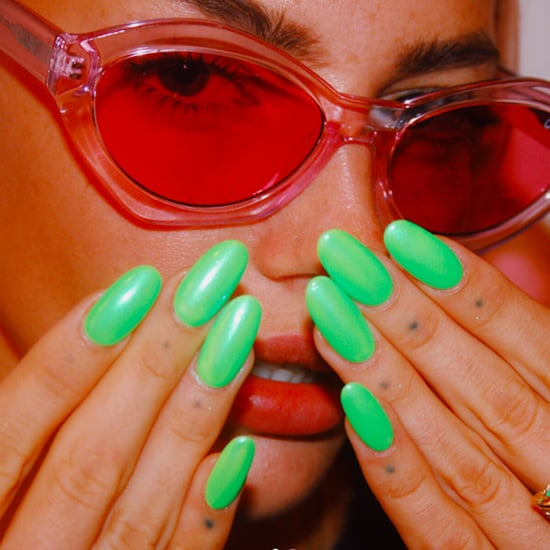 Green Nail Polish Trend Spring 2020