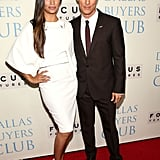 Matthew McConaughey showed up to the event with his wife on his arm.