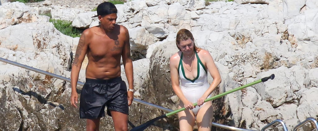 Ellen Pompeo and Her Husband Chris Ivery in France June 2018