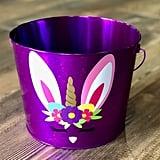 Purple Unicorn Bunny Easter Basket