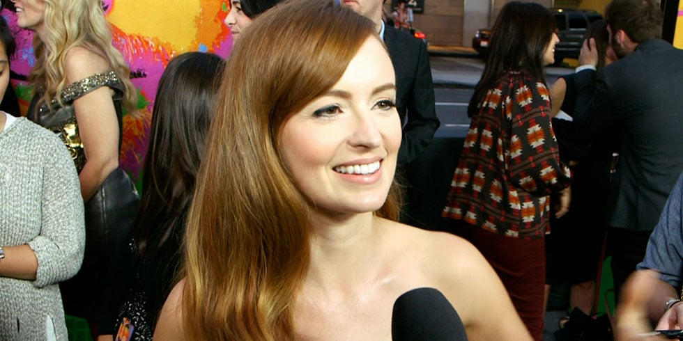 Ahna O'Reilly Interview at the Jobs Premiere (Video)