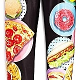 Party Food Print Leggings