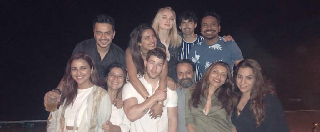 Priyanka Chopra Nick Jonas Wedding Celebration Photos