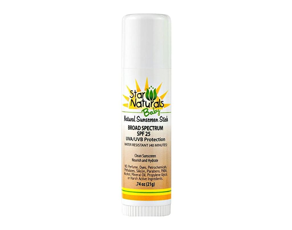 Star Naturals Baby Natural Sunscreen Stick, SPF 25