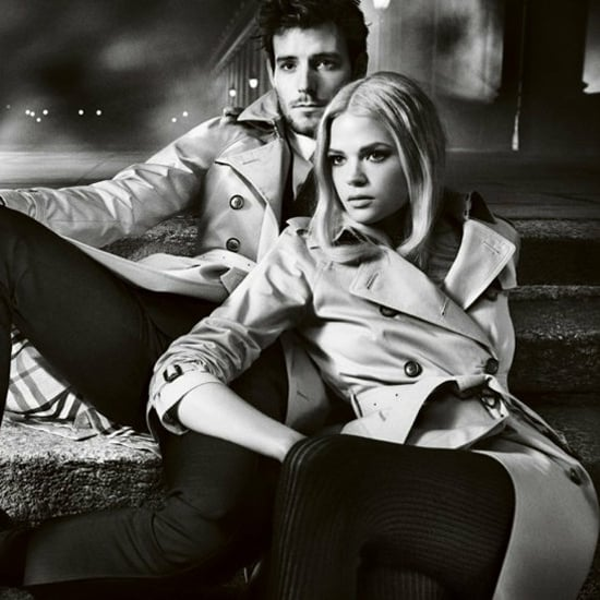 Burberry AW 2012 Campaign Stars Gabriella Wilde and Roo Panes
