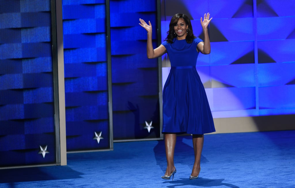 Michelle Obama S Christian Siriano Dnc Dress 2016
