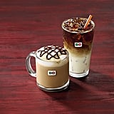 Peppermint Mocha and Brown Sugar Cinnamon Iced Macchiato