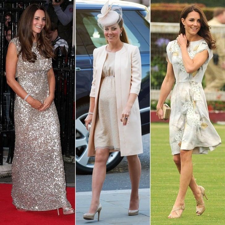 95eafee6957 Recap Kate Middleton s best looks by Jenny Packham