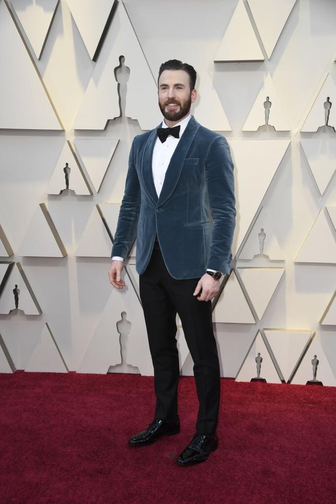 Chris Evans outfit Oscar 2019