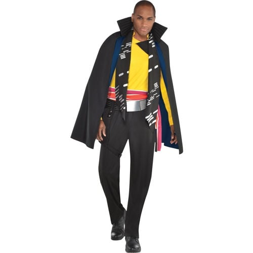 Adult Star Wars Lando Calrissian Halloween Costume w// Cape Mens Classic Cosplay