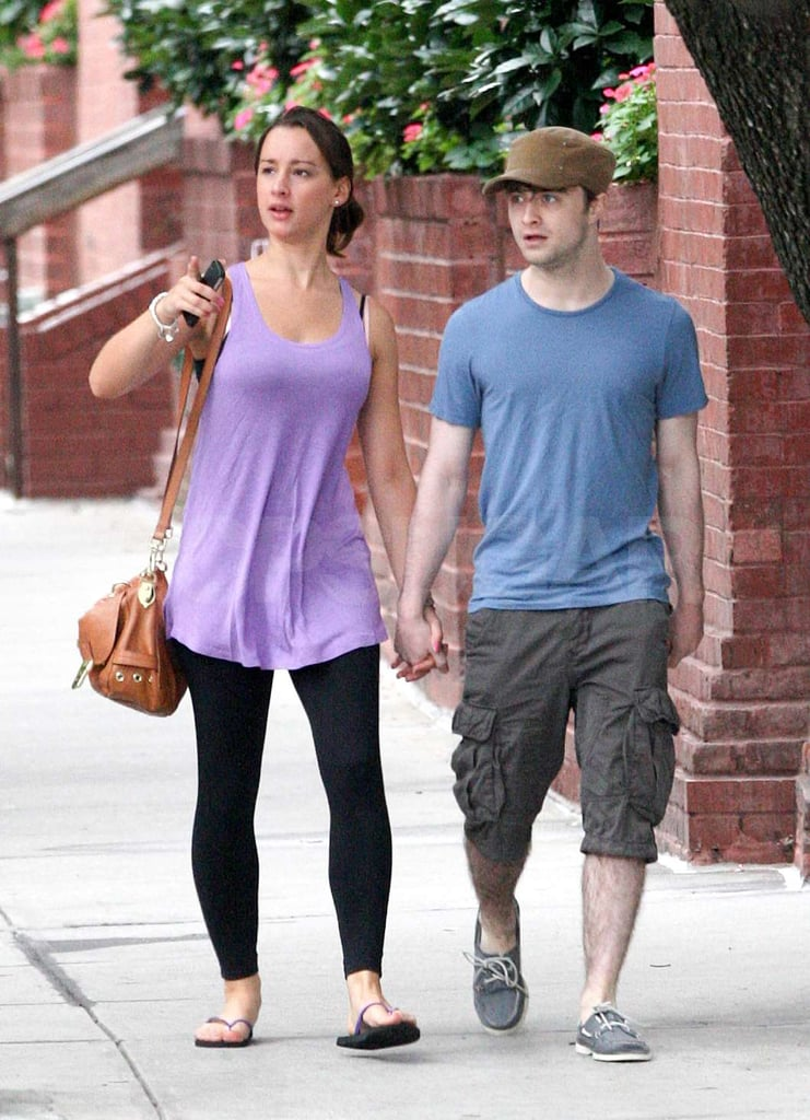 radcliffe dating At the tender age of eleven, daniel radcliffe was catapulted to fame when he was cast to play harry potter in the film adaptations of jk rowlings' best-selling books.