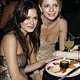 The O.C. stars Rachel Bilson and Mischa Barton stuck close during a 2005 afterparty.