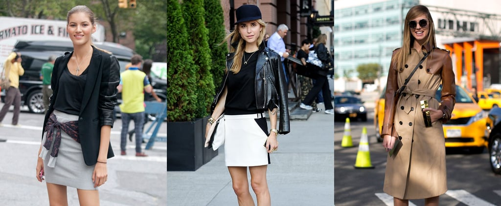 Street Style Outfit Inspiration Pictures for Rainy Days