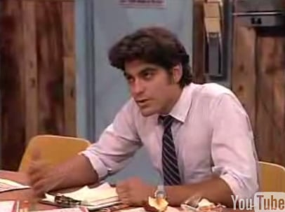 "Flashback: A Young George Clooney on ""Roseanne"""