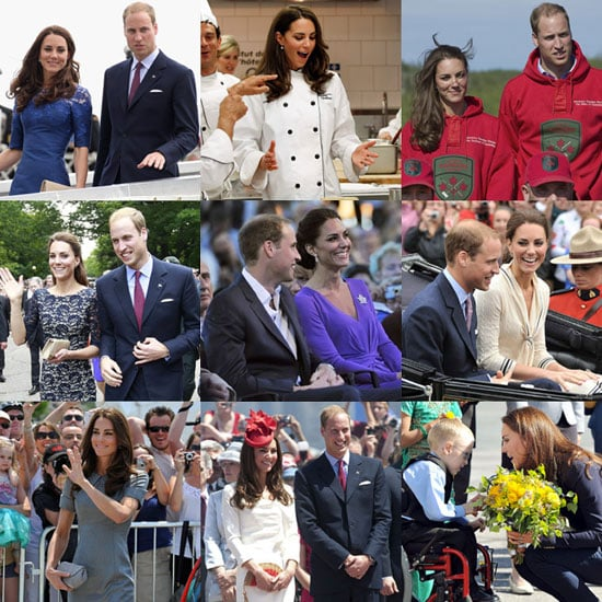 Prince William and Kate Middleton's Canada and North America Tour Pictures