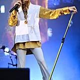Performing in Paris in 2011.