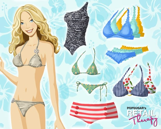 New Bikinis, Summer Themes For PopSugar's Retail Therapy